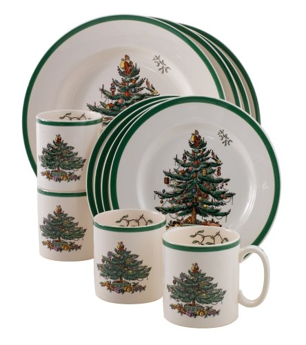 Christmas dinnerware sets Spode