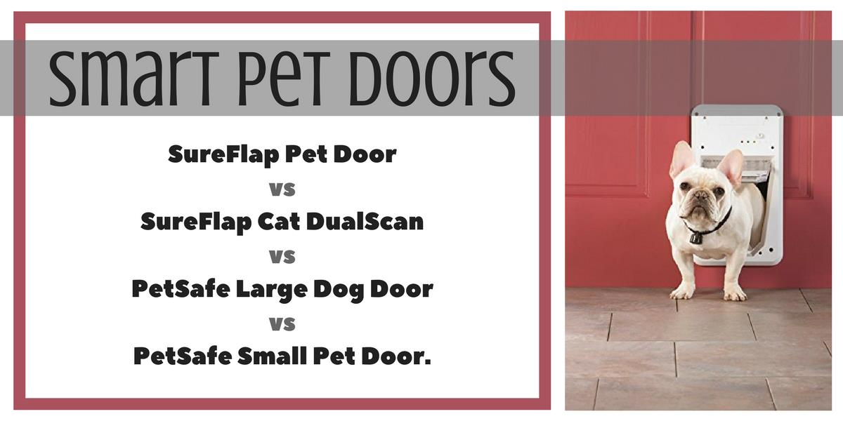 Smart Pet Door For Dogs And Cats Using Microchip Or Rfid Tags