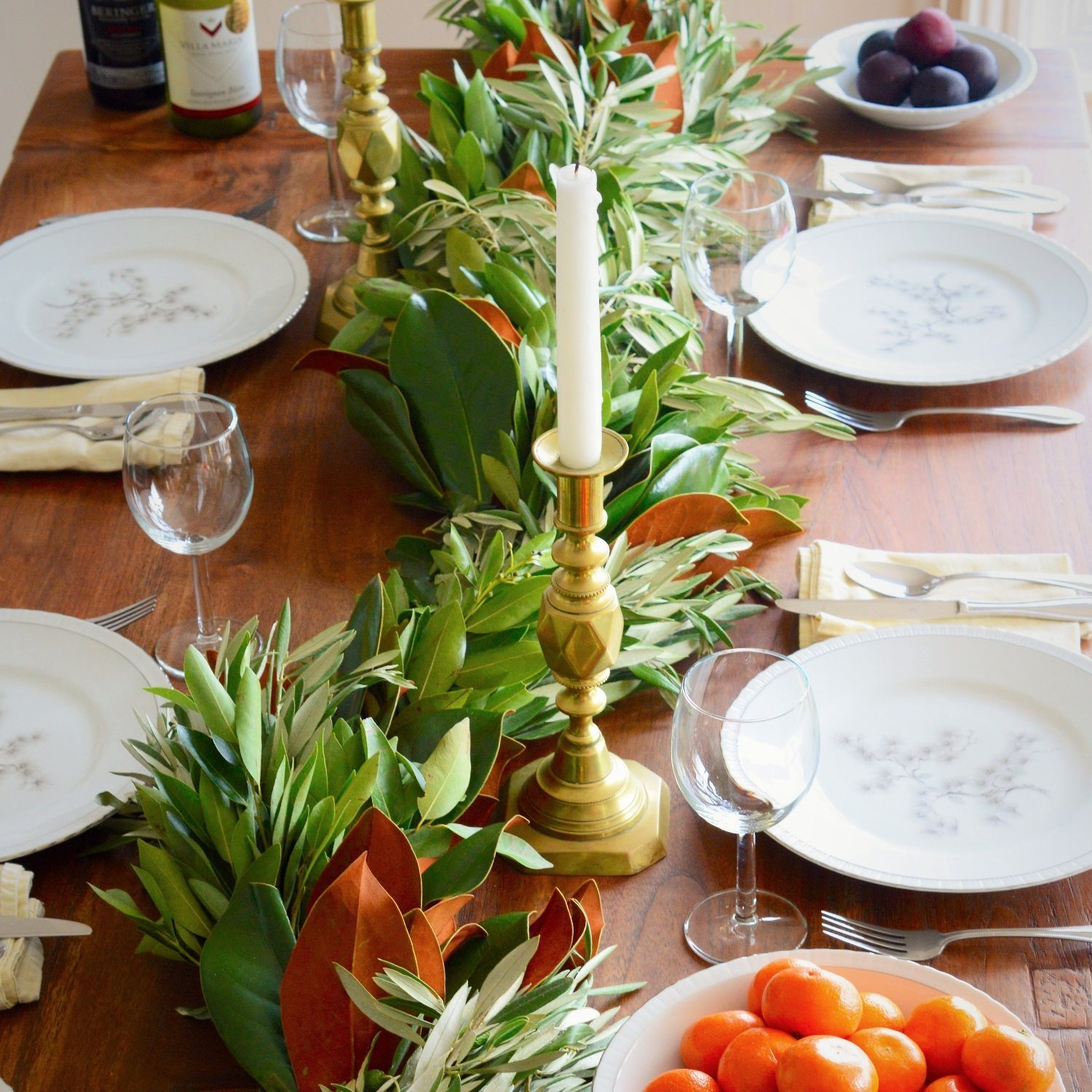 Ways to use garland table