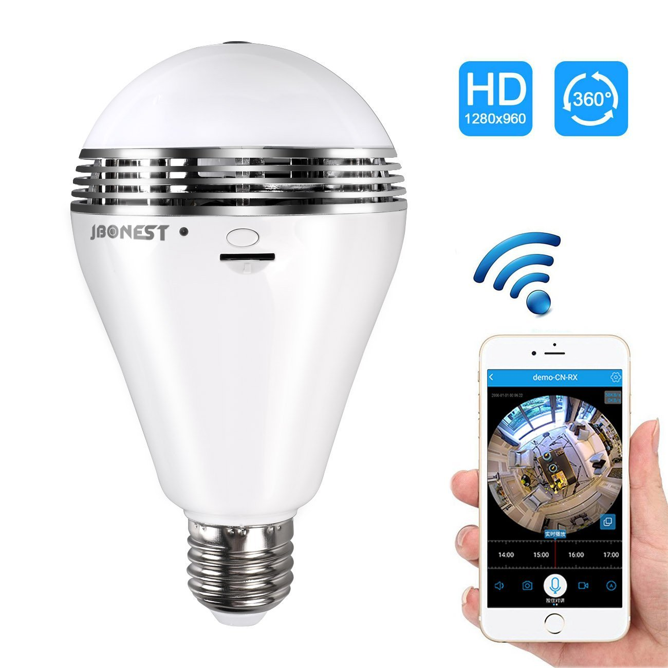 Home Security Gadgets light bulb camera