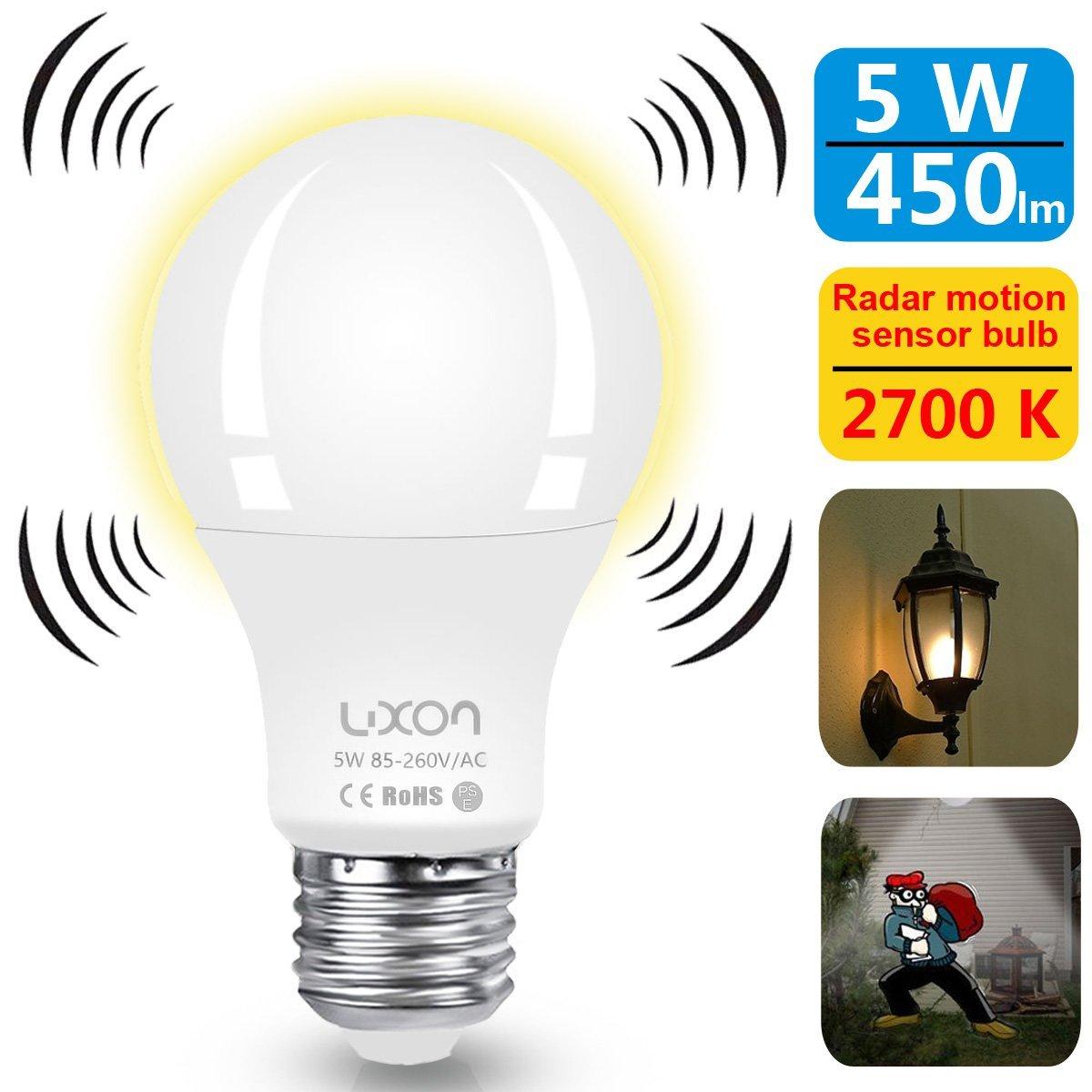 Home Security Gadgets radar motion sensor bulb