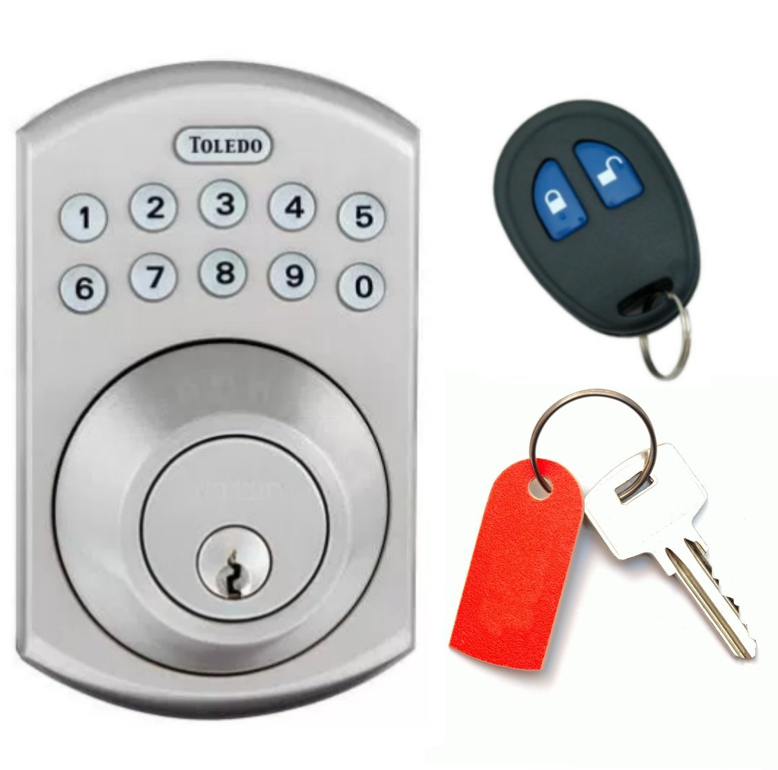 Home Security Hacks electronic door lock