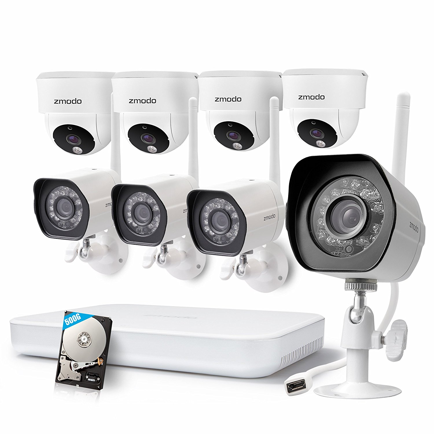 Simple home security system wireless