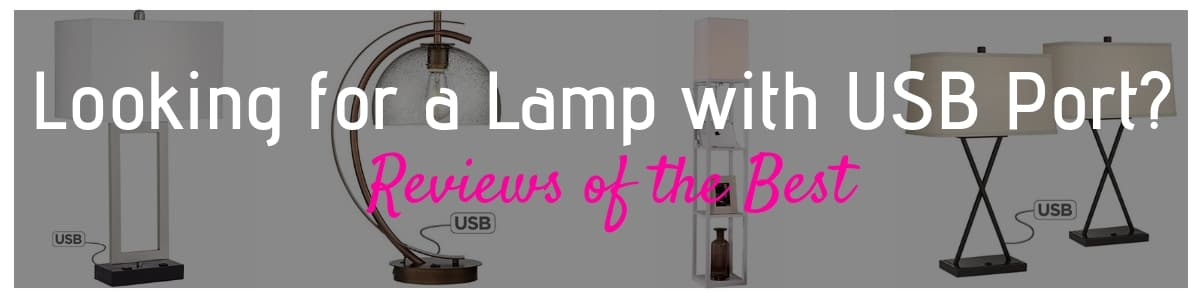 Lamp with USB Port