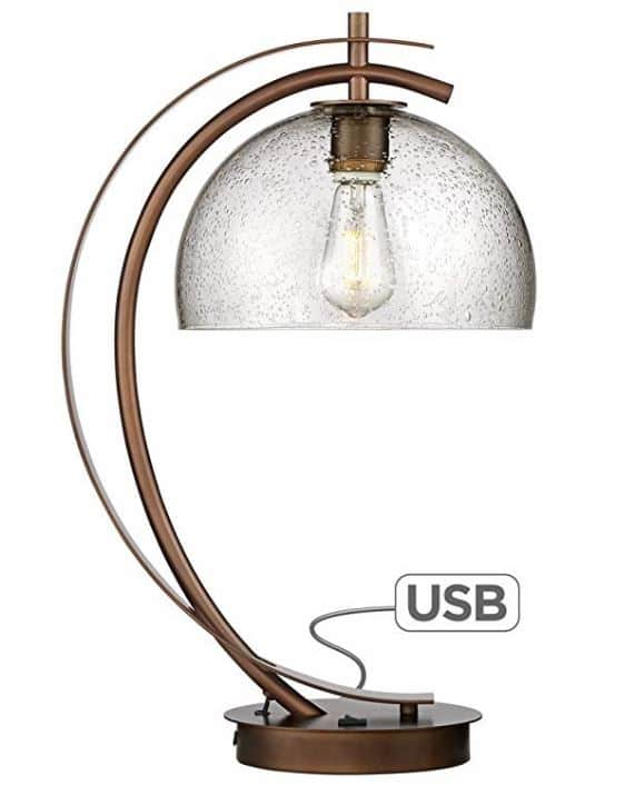 Table Lamp with USB Port industrial