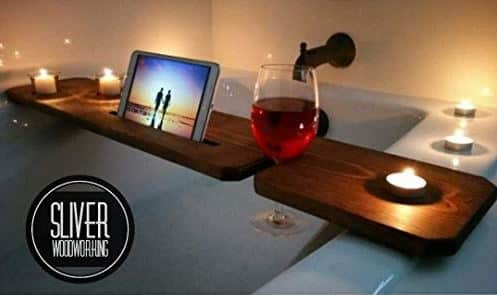 Best bathtub tray wooden